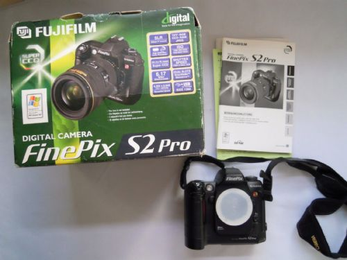 Fujifilm FinePix S2 Pro 6.2 MP Digital SLR Camera - Black (Body only)